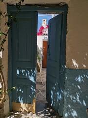 Café in Chalki, Naxos Island (sandorson) Tags: island greece cyclades naxos νάξοσ náxosz café bar restaurant halki chalkio χαλκείο chalki τοσπιτικόγαλακτομπούρεκο