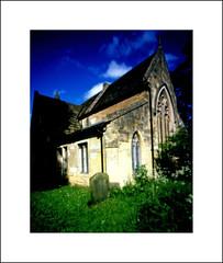 Frickley Church (oldeyes47) Tags: 4x5 fuji provia film pinhole frickley southyorkshire bellini e6 epsonv600 largeformat zeroimage filmphotography pinholecamera pinholephotography