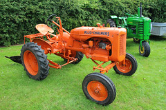 Allis-Chalmers Tractor (big_jeff_leo) Tags: vehicle farm traction tractor orange rural england