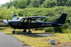 G-THIN Cessna 172 - Breighton (benallsup) Tags: aviation aircraft plane flying fly aeroplane breighton vac vintage flyin yorkshire gthin cessna 172