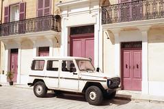 Mdina (fraser_west) Tags: film analog 35mm kodak malta mdina travel street car jeep town canon eos3 kodakgold journal wetheconspirators