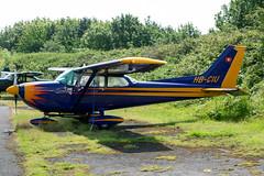 HB-CIU Cessna 172 - Breighton (benallsup) Tags: aviation aircraft plane flying fly aeroplane breighton vac vintage flyin yorkshire hbciu cessna 172