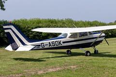 G-ASOK Cessna 172 - Breighton (benallsup) Tags: aviation aircraft plane flying fly aeroplane breighton vac vintage flyin yorkshire gasok cessna 172
