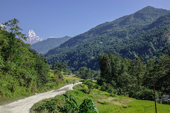 Mountain scenery of Pokhara, Nepal (phuong.sg@gmail.com) Tags: alp alpine asia autumn background beautiful climbing cloud conquest destination environment everest expedition forest glacier green height high highest hiking himalaya india landscape massif mount mountain mountaineering nature nepal peak range road rock scenery sky summer summit tibet tourism travel trek valley view