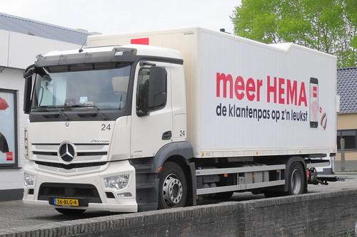 Mercedes Antos 2132, Hema, Amsterdam - a photo on Flickriver