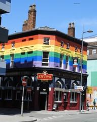 RAINBOW BAR (garydavidworthington) Tags: liverpool photography city colour buildings architecture artistic fun creative pride rainbow bar beer lgbtq kittys