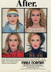 Merle Norman 1983 (barbiescanner) Tags: merlenorman vintageadvertising vintage retro fashion vintagefashion 80s 80sfashions 1980s 1980sfashions 1983 dianedewitt