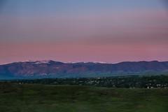Bighorn sunrise (RubyT (I come here for cameraderie!)) Tags: fujixt30 fujicron1855 bighorns sheridan wyoming mountains landscape sunrise