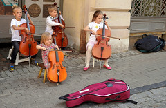 The Little Orchestra (mandalaybus) Tags: vilnius lithuania kid kids children child boy boys girl girls band orchestra bands orchestras violin violins
