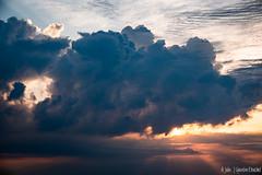 Lever de soleil dans les nuages (Quentin Douchet) Tags: ciel cloud landscape leverdesoleil nuage paysage sky soleil sun sunrise