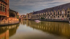 Gand - 7071 (✵ΨᗩSᗰIᘉᗴ HᗴᘉS✵66 000 000 THXS) Tags: gand gent ghent water sony sonydscrx10m4 belgium europa aaa namuroise look photo friends be yasminehens interest eu fr party greatphotographers lanamuroise flickering