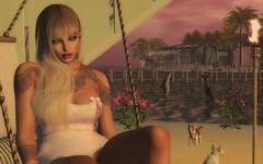 forbidden fruit, hidden eyes (xPeach Boucherx) Tags: secondlife shop tattoo home fun fashion woman beach national bar maitreya catwa