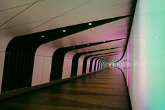 Subway | Underground | Tube ? (lfeng1014) Tags: subway underground tube kingscrossstation passange tunnel pedestrian colourful reflection ledlights london england uk architecture canon5dmarkiii ef1635mmf28liiusm travel light lifeng