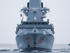 HMS Dragon (Bernie Condon) Tags: type45 destroyer warship daringclass antiaircraft military navy royalnavy rn british uk portsmouth dragon hermajestiesship hmnb