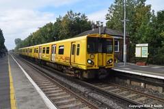 151009d006 (Mersey_Rails) Tags: emu train hillside station northern line merseyrail rail railway 508138 class508