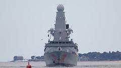 HMS Dragon (Bernie Condon) Tags: destroyer warship antiaircraft type45 daringclass uk dragon military navy portsmouth british rn royalnavy hmnb hermajestiesship