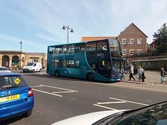 Arriva North East 7406 - Route P2 (fbologna98) Tags: whitby yorkshirebus arriva arrivanortheast arrivamax parkandride volvo b7tl doubledecker doubledeckerbus