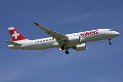 Swiss Bombardier CSeries CS300; HB-JCQ@ZRH;24.06.2019 (Aero Icarus) Tags: zrh zürichkloten zürichflughafen zurichairport lszh plane avion aircraft flugzeug