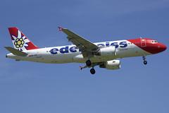Edelweiss Air Airbus A320-214; HB-IJU@ZRH;24.06.2019 (Aero Icarus) Tags: zrh zürichkloten zürichflughafen zurichairport lszh plane avion aircraft flugzeug