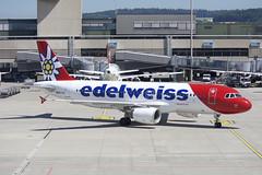 Edelweiss Air Airbus A320-214; HB-IJV@ZRH;24.06.2019 (Aero Icarus) Tags: zrh zürichkloten zürichflughafen zurichairport lszh plane avion aircraft flugzeug