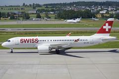 Swiss Bombardier CSeries CS300; HB-JCK@ZRH;24.06.2019 (Aero Icarus) Tags: zrh zürichkloten zürichflughafen zurichairport lszh plane avion aircraft flugzeug