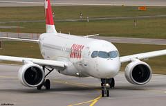 Swiss Airbus A220-300 HB-JCB (RuWe71) Tags: swissinternationalairlinesltd swiss lxswr lufthansagroup switzerland suisse swissconfederation airbus airbusa220 a220 a220300 a220371 airbusa220300 airbusa220371 bombardier bombardiercseries bombardierbd500cseries bombardiercs300 bd5001a11 bombardiercseriescs300 hbjcb cn55011 cfpbq zürichairport zürichkloten zürichklotenairport flughafenzürich zrh lszh narrowbody twinjet taxiing