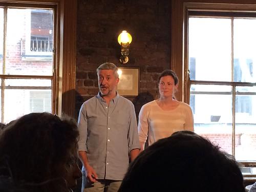 Literary Pub Crawl Guides/Actors