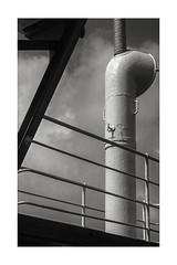 On the ferry… (K.Pihl) Tags: pellicolaanalogica blackwhite schwarzweiss bw monochrome analog film 400tx
