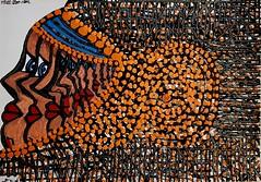 Artista israelita cuadros acrilicos Mirit Ben-Nun (female art work) Tags: pincel simbolos zentangle art zangle puntillismo acrilico estilo boceto volumen expresivo galeria israelita israel judia etnicos coleccion moderno figura detallista contraste museo lienzo arte retrato pintora armonia colores ornamento puntos dibujos multicolor autoretrato pigmentos mandala imagen detalles contemporaneo artistico impresionismo figurativo canvas realismo estatua
