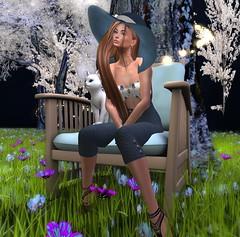 kalie outfit (lillyfairyfae) Tags: secondlife fashion capris hat maitreya catwa nomatch free cheap jewellery marketplace