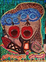 Mirit Ben-Nun artista israelita cuadros en acrilico (female art work) Tags: pincel simbolos zentangle art zangle puntillismo acrilico estilo boceto volumen expresivo galeria israelita israel judia etnicos coleccion moderno figura detallista contraste museo lienzo arte retrato pintora armonia colores ornamento puntos dibujos multicolor autoretrato pigmentos mandala imagen detalles contemporaneo artistico impresionismo figurativo canvas realismo estatua