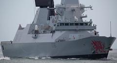 HMS Dragon (Bernie Condon) Tags: type45 destroyer warship navy royalnavy rn dragon hmsdragon hermajestysship daringclass hmnb portsmouth navalbase hants