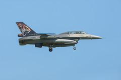 General Dynamics F-16B Fighting Falcon (Boushh_TFA) Tags: general dynamics fighting falcon f16 j882 royal netherlands air force rnlaf nato tiger meet 2018 31st base krzesiny poznan poland epks nikon d600 nikkor 300mm f28 vrii f16b