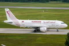 TS-IMO (PlanePixNase) Tags: aircraft airport planespotting haj eddv hannover langenhagen airbus 319 a319 tunisair