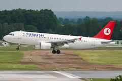 TC-JLA (PlanePixNase) Tags: aircraft airport planespotting haj eddv hannover langenhagen turkish turkishairlines a320 320 airbus