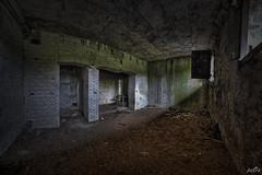 Texel Airfield bunker (pe0s, Steven) Tags: war apocalypse bunker stalker apocalyptic bunkers hrd abandoned wall airport fort atlantic fisheye hidden ww2 fortress texel airfield urbex atlanticwall casemate cocksdorp