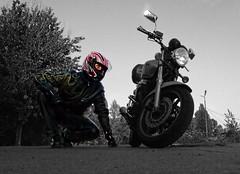 HONDA guy (driver Photographer) Tags: 摩托车,皮革,川崎,雅马哈,杜卡迪,本田,艾普瑞利亚,铃木, オートバイ、革、川崎、ヤマハ、ドゥカティ、ホンダ、アプリリア、スズキ、 aprilia cagiva honda kawasaki husqvarna ktm simson suzuki yamaha ducati daytona buell motoguzzi triumph bmw driver motorcycle leathers dainese motorrad