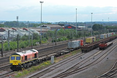 66419 (mike_j's photos) Tags: doncaster class66 66419 freightliner