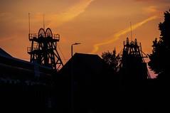 Snibston Colliery, Coalville (Richard Woodhead) Tags: leicestershire coalville sunset colliery mine coal snibston