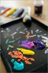 Artist Was Here (mikeyp2000) Tags: paint tray color art artist palette colors colours colour