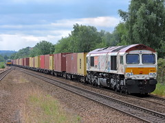 "66721 ""Harry Beck"" (mike_j's photos) Tags: swinton class66 gbrf 66721 harrybeck"