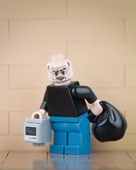 Lego Banksy Steve Jobs (Eddy Plu) Tags: lego legoart art artist banksy steve jobs stevejobs apple mac macintosh mural streetart street legobanksy eddyplu eddy plu toy photography toyphotography afol tfol moc migration