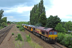 Toton convoy (mike_j's photos) Tags: swinton class66 gbrf class60 db ews 66060 66086 60021 60076