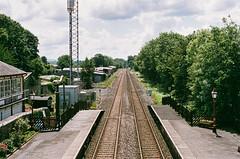 06240028_26 lum (Douglas Jarvis) Tags: film om1 olumpus kodak portra 160 settle railway train