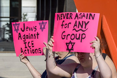 Never Again Is Now March9 (John Rothwell) Tags: grandrapids michigan protest march jewish neveragainisnow ice immigration