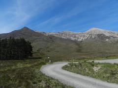 Beinn Eighe(3310ft), Highlands of Scotland, May 2019 (allanmaciver) Tags: beinn eighe torridon mountains highlands scotland trees scree peaks track car park blue sky weather clouds allanmaciver