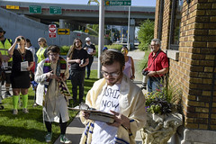 Never Again Is Now March28 (John Rothwell) Tags: grandrapids michigan protest march jewish neveragainisnow ice immigration