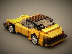 Porsche Turbo 1980 (2/4) (ron_dayes) Tags: porsche 911 carrera gt turbo lego minifig scale small 1 43