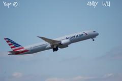 Boeing 787-9 American Airlines (Starkillerspotter) Tags: american airlines boeing 7879 paris cdg airport takeoff afternoon aircraft dreamliner