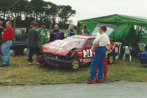 End of the road at Cadwell - Sept 1995